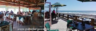 Restaurante Las Rocas Duao terraza y comedor