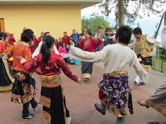 Dança ritualística tibetana
