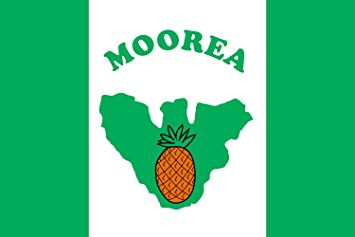 Flag of Mo'orea