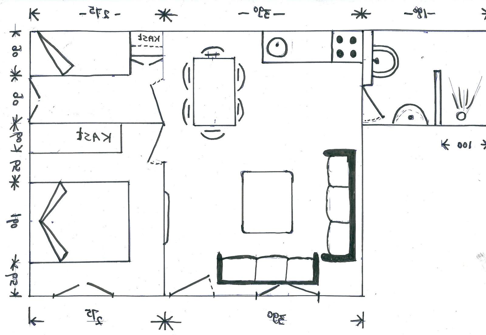 De verbouwing van de masia - Studio indeling ...
