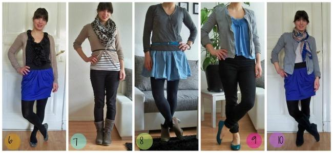 Die minimalistische Garderobe : Das Experiment für einen ganzen Monat nur 12 Klamotten zur Verfügung zu haben