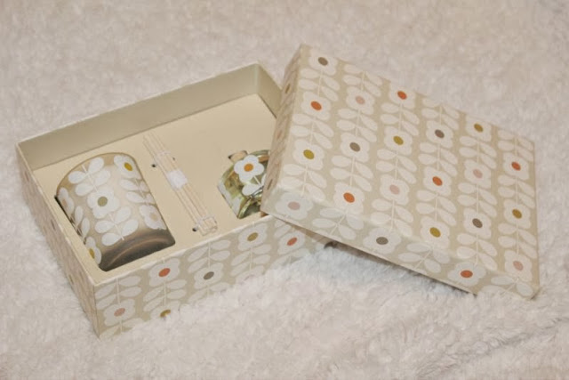 Orla Kiely Basil and Mint Home Fragrance Gift Set