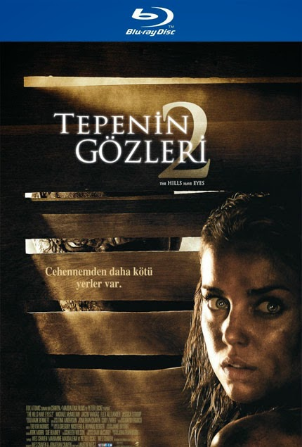 Tepenin Gözleri 2 - The Hills Have Eyes II bluray poster
