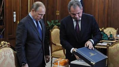 Putin Buka Kotak Hitam Jet Tempur Secara Live