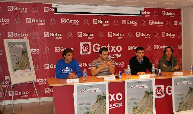 Rueda de prensa del Arnette Punta Galea Big Challenge