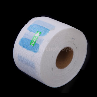 5pcs Disposable Neck Covering Paper Towel Hairdressing Convenient Accessory B0RT