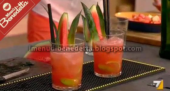 Virgin Watermelon Caipiroska di Benedetta Parodi