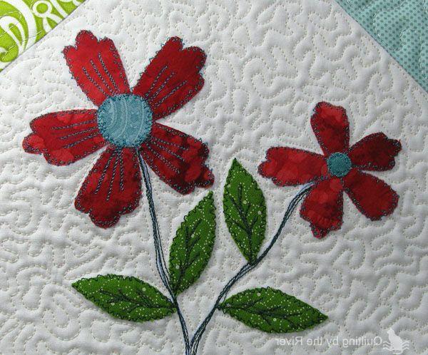 Салфетка-пэчворк  Napkin patchwork, appliqué