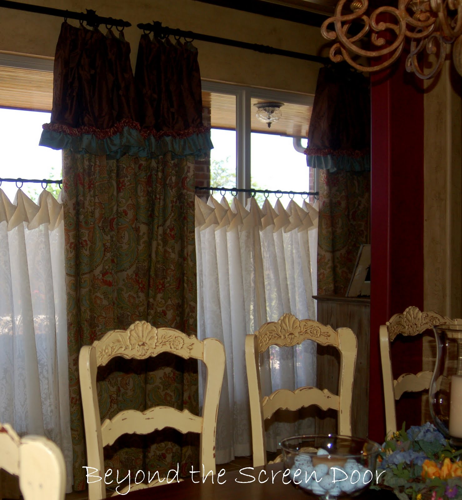 barn inspired style valance tile valances pottery board diy design teen by