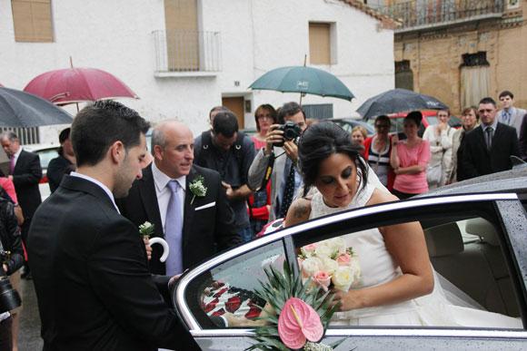 Cuando llueve en las bodas