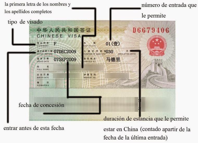 Visado China