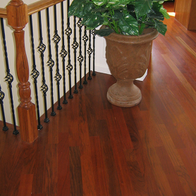 green certified brazilian cherry hardwood flooring