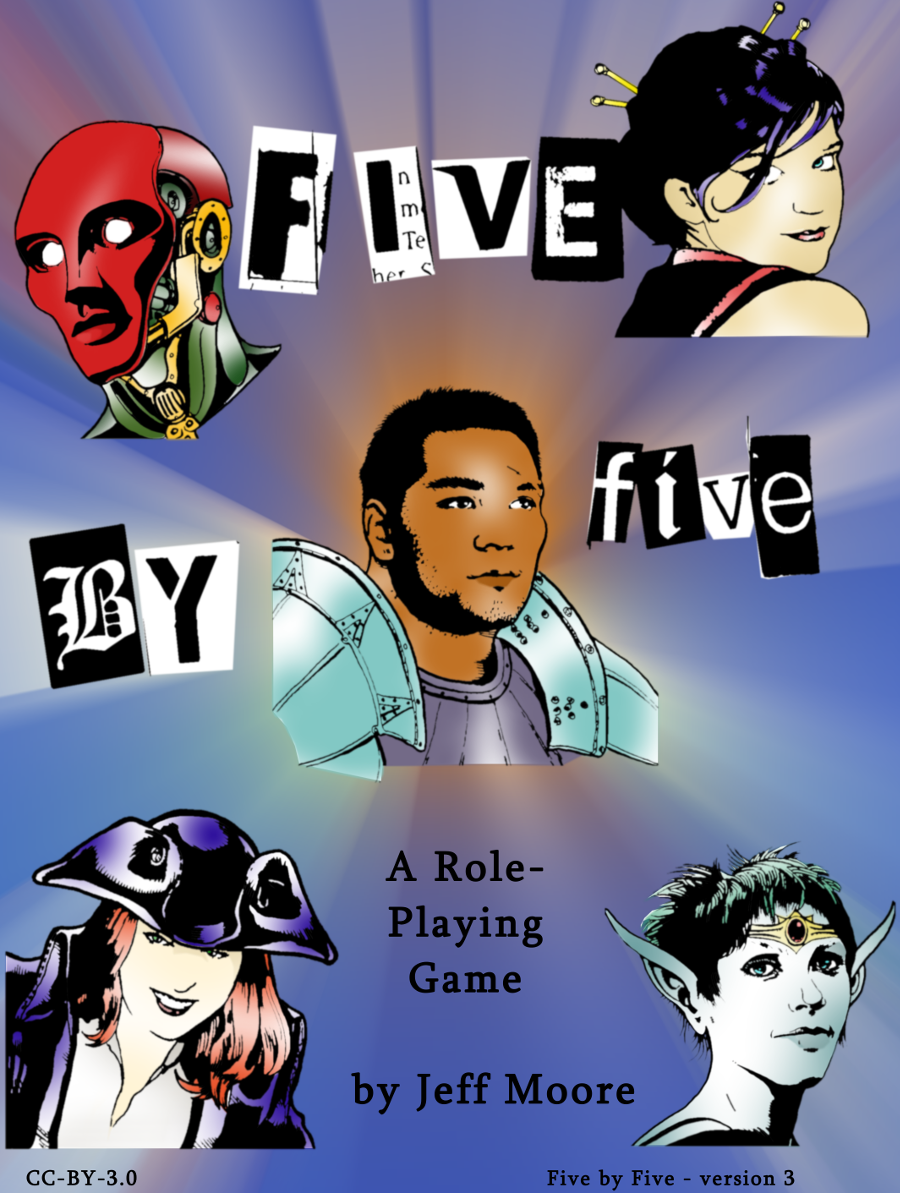 Five by Five (now available in print!)