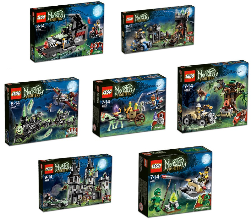 Brickstoy lego monster fighter 2012 sets new topic from lego