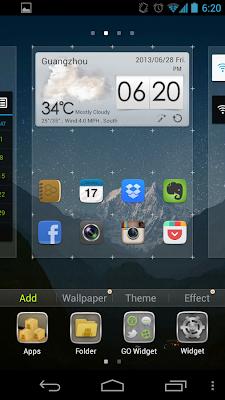 GO Launcher EX app