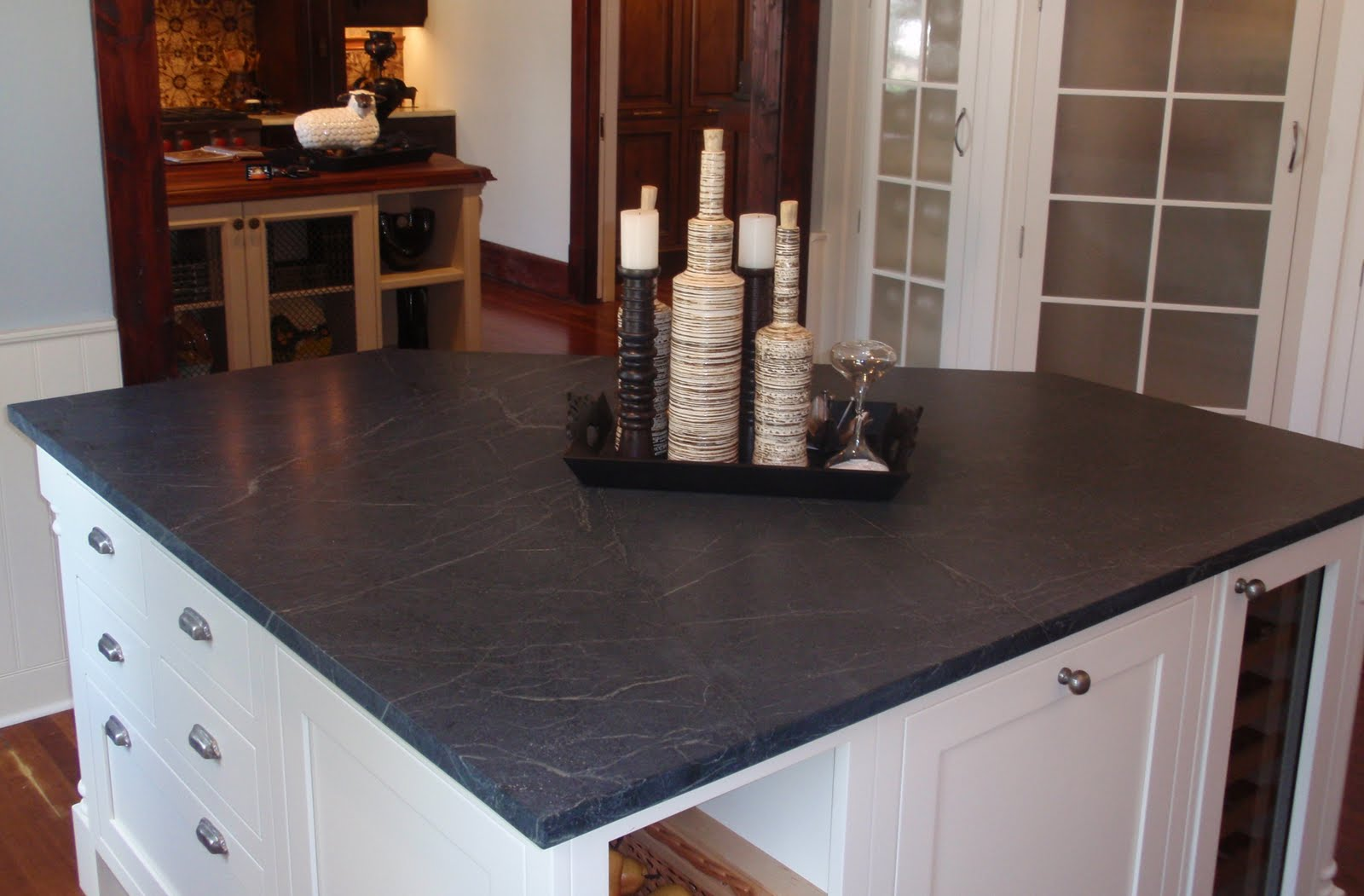 Traditional Black Soapstone
