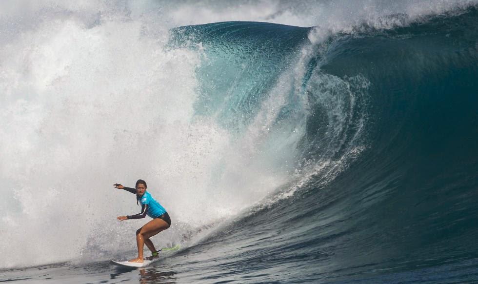 2014 Fiji Womens Pro Malia Manuel Foto ASP Robertson