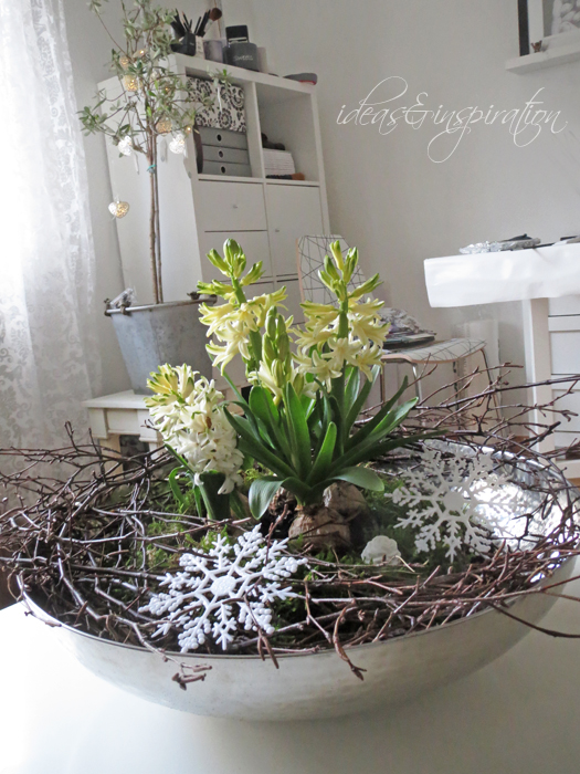 Ideas and inspirations winterliche tischdeko winter table decor - Winterliche dekoration ...