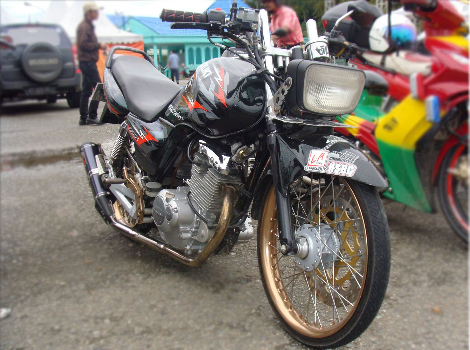 Modifikasi Motor Kontes Thunder