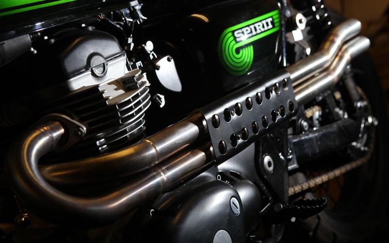 Kawasaki W800 Scrambler By Spirit Of The Seventies