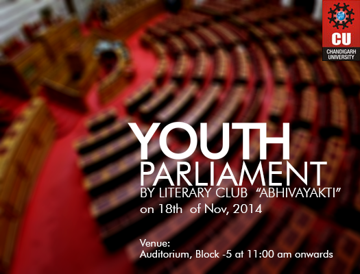 Chandigarh University (CU) Youth Parliament