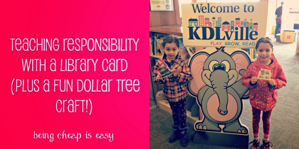 Responsibility Lessons, Library Lessons, KDL, Lanyard Crafts, Dollar Tree Crafts
