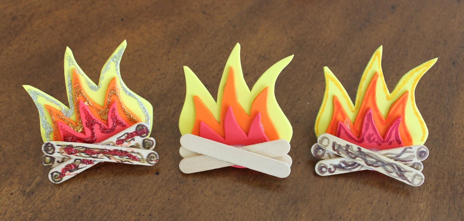 Cub Scout Christmas Party Ideas Part - 39: Campfire Neckerchief Slides For Cub Scouts