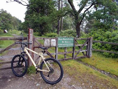 west highland way at inveroran