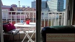 Piso amueblado de dos dormitorios en Lonzas, terraza, garaje. 540€