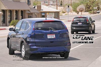 Bảo hiểm ô tô - Honda CR-V 2016 xuất đầu lộ diện