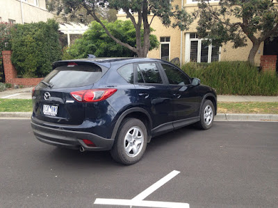 Mazda CX-5 looks especially good from the back