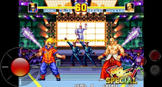 Screenshots of the Fatal fury: Special for Android tablet, phone.