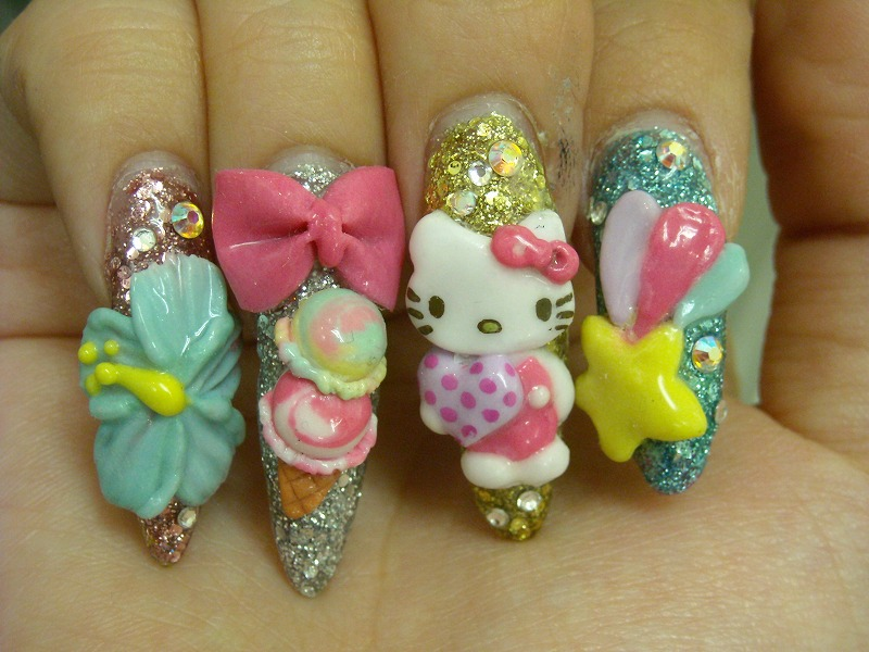 japanese nail art designs - photo #15