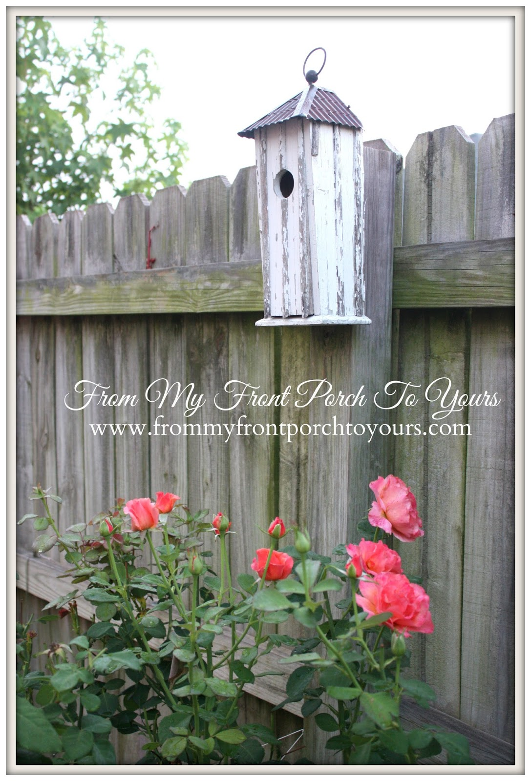 From My Front Porch To Yours- Flower Garden