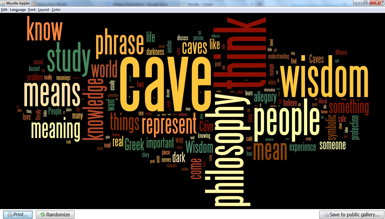 essay question allegory of the cave