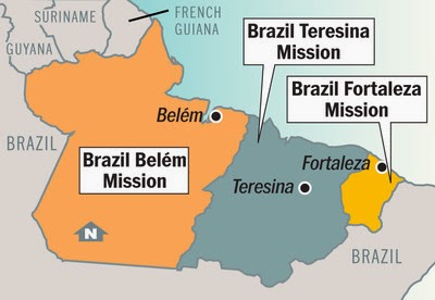 Map of Belem Mission