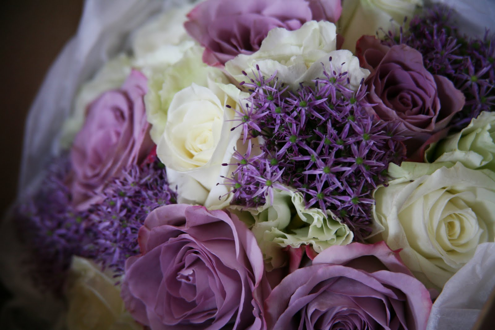 Purple Mauve Wedding Inspiration On Pinterest