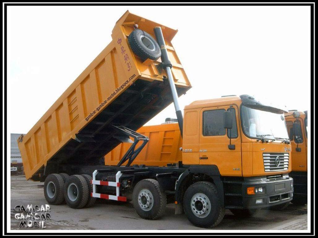 gambar mobil dump truck