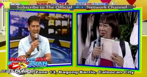 Eat Bulaga's Problem Solving in Bagong Barrio, Caloocan City