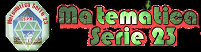 Matemática Serie 23