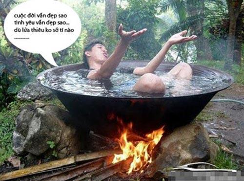 hình ảnh vui nhộn hài hước nhất tắm