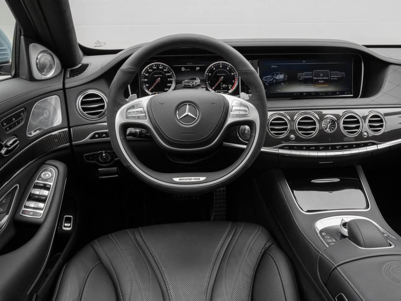 Mercedes benz s63 amg 2014 pre o parte de r 440 mil na for Mercedes g interno