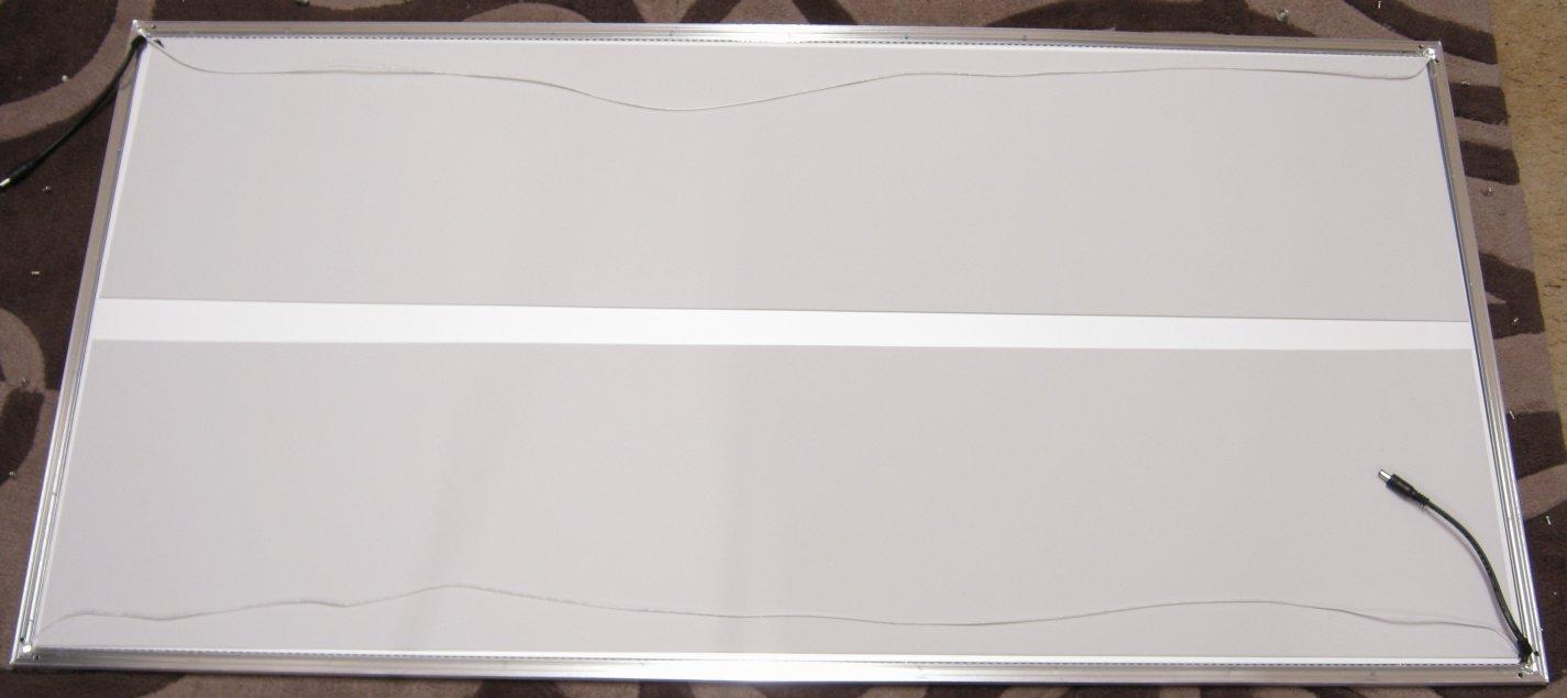 Grant Trebbin Large Led Panel Light Testing