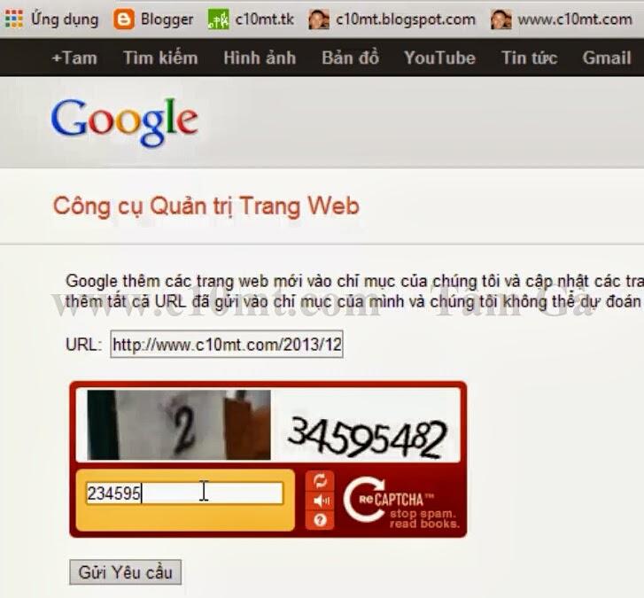 Công cụ quản trị trang web | google webmasters tool