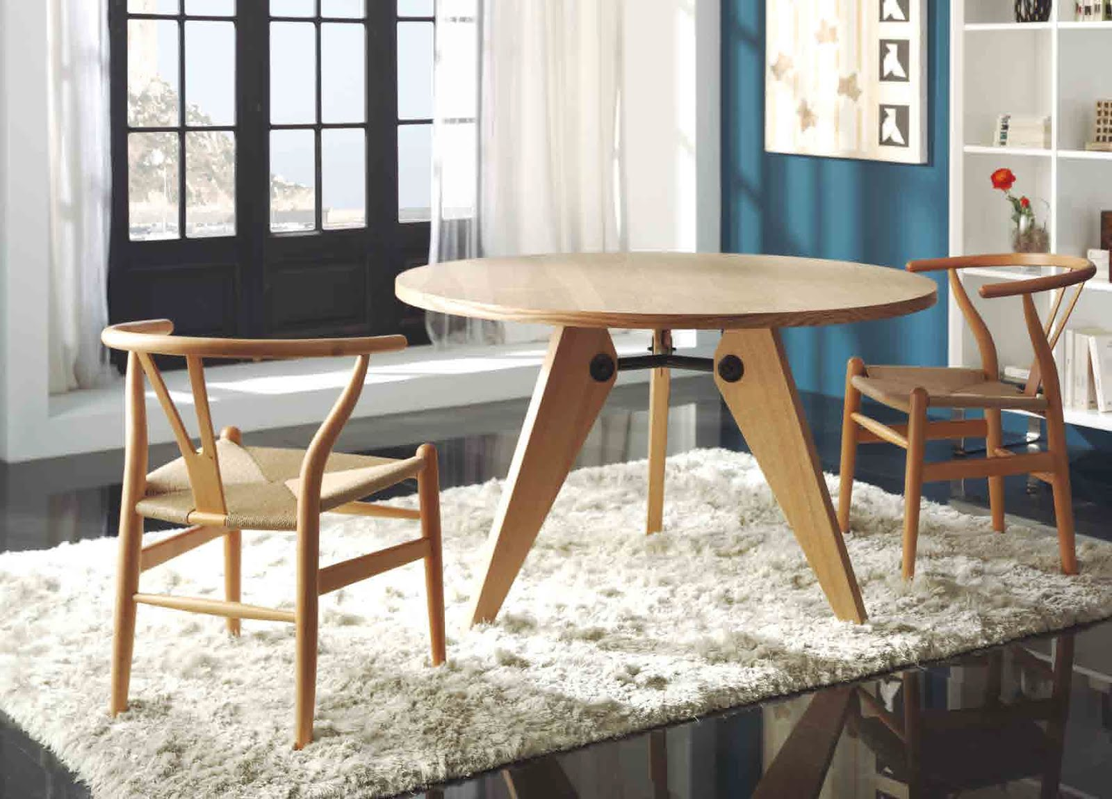 Promociones muebles xikara for Mesa estilo nordico