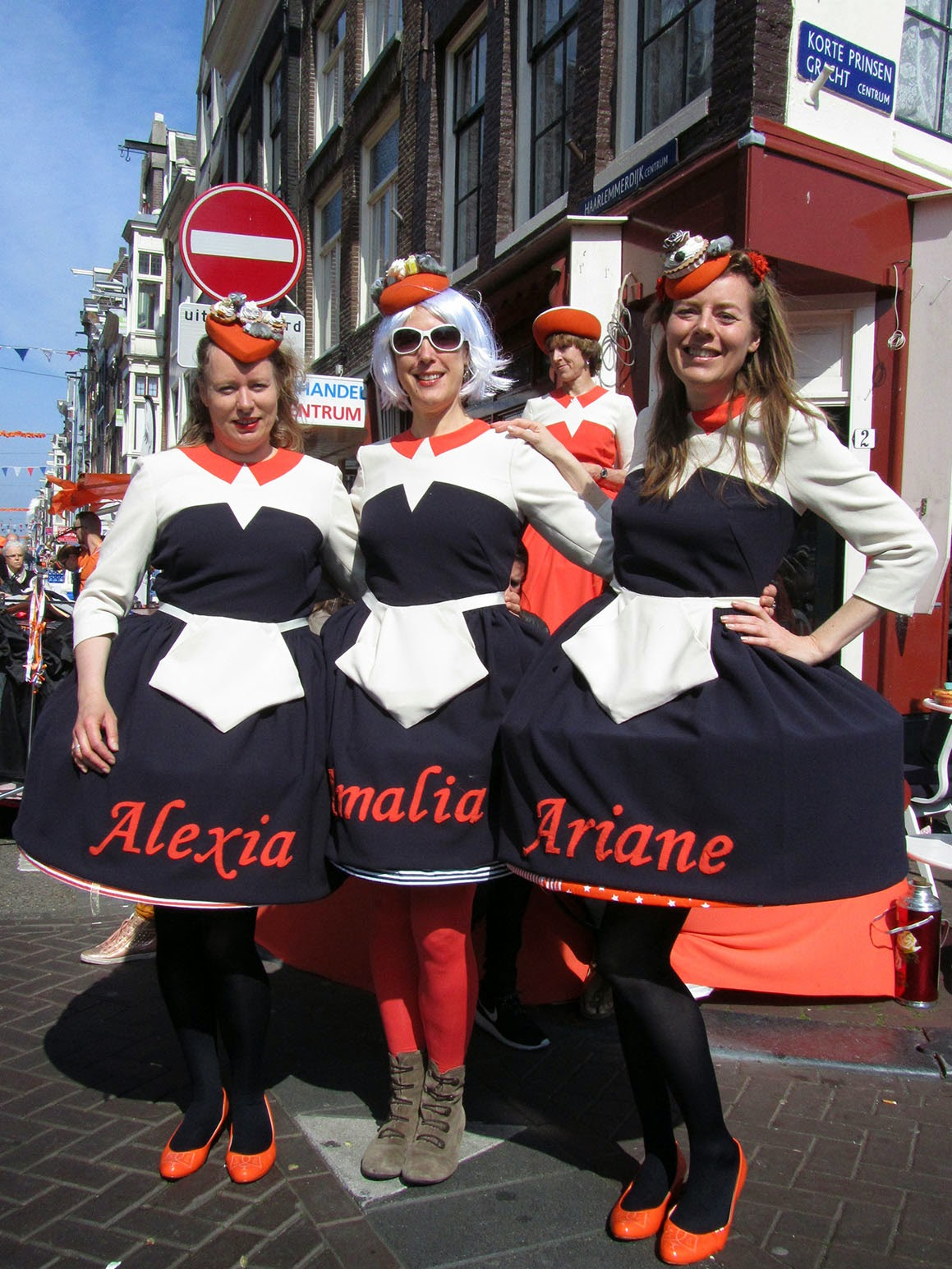 King's Day with friends