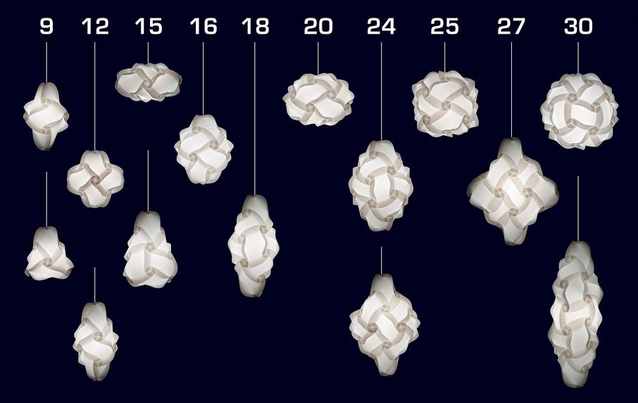 Как сделать светильники из бумаги