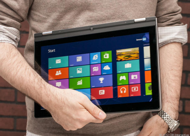 A full-time laptop meets a part-time tablet Lenovo IdeaPad ...