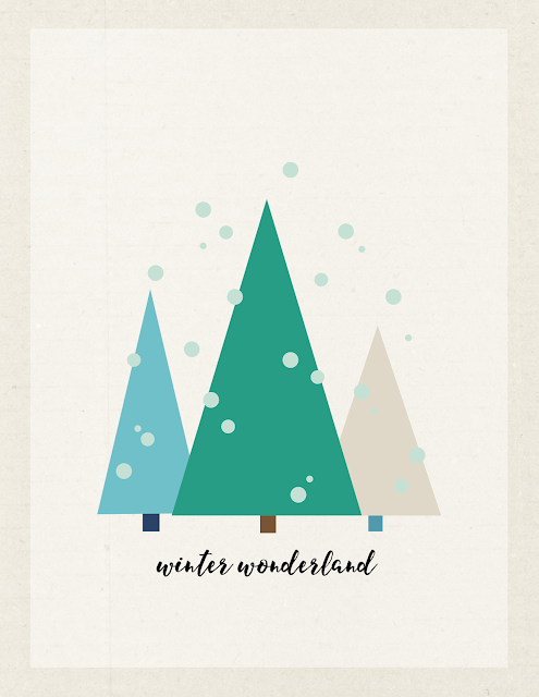 FREE Winter #printable by Jen Gallacher from www.jengallacher.com