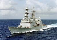 Spruance class destroyer